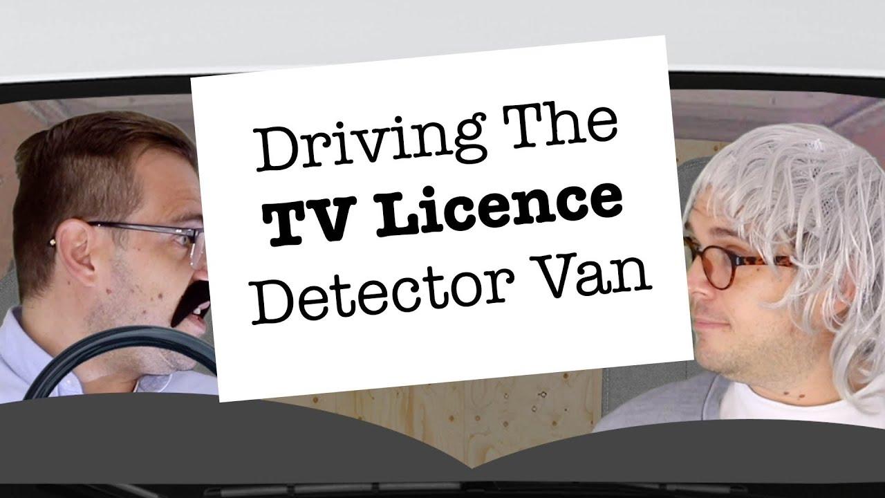 Driving The TV Licence Detector Van