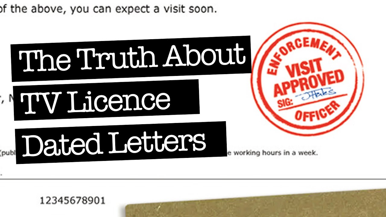 Got A TV Licence Letter With An Enforcement Visit Date? - Watch This Now!