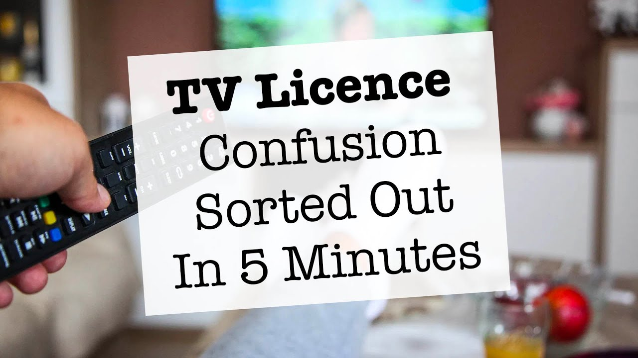 TV Licence Website & Letters Say I Can't Watch Youtube / Amazon Prime etc Without A TV Licence